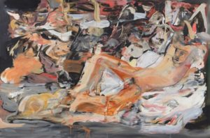 Cecily Brown, Boy with a Cat, 2015