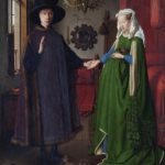 Jan van Eyck, Portrait of Giovanni Arnolfini and his Wife, 1434