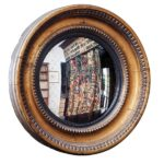 Convex mirror owned by Dante Gabriel Rossetti