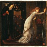Sir Edward Burne-Jones, Fair Rosamund and Queen Eleanor, 1862