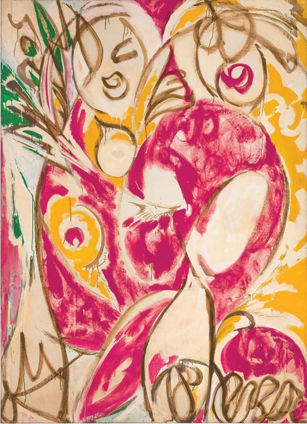 Lee Krasner, Sun Woman I, 1957
