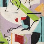 Lee Krasner, Seated Figure, 1938–39