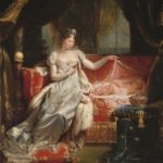 Joseph Franque, The Empress Marie-Louise Watching Over the Sleeping King of Rome