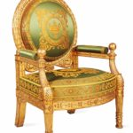 Pierre-Antoine Bellangé, Presentation armchair for the Grand Salon of the King of Rome's apartment at the Tuileries