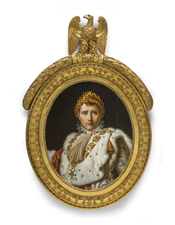 Bust-length Portrait of Napoleon in Ceremonial Robes