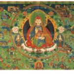 Scenes from the Life of Padmasambhava, Bhutan or Tibet, circa 18th century
