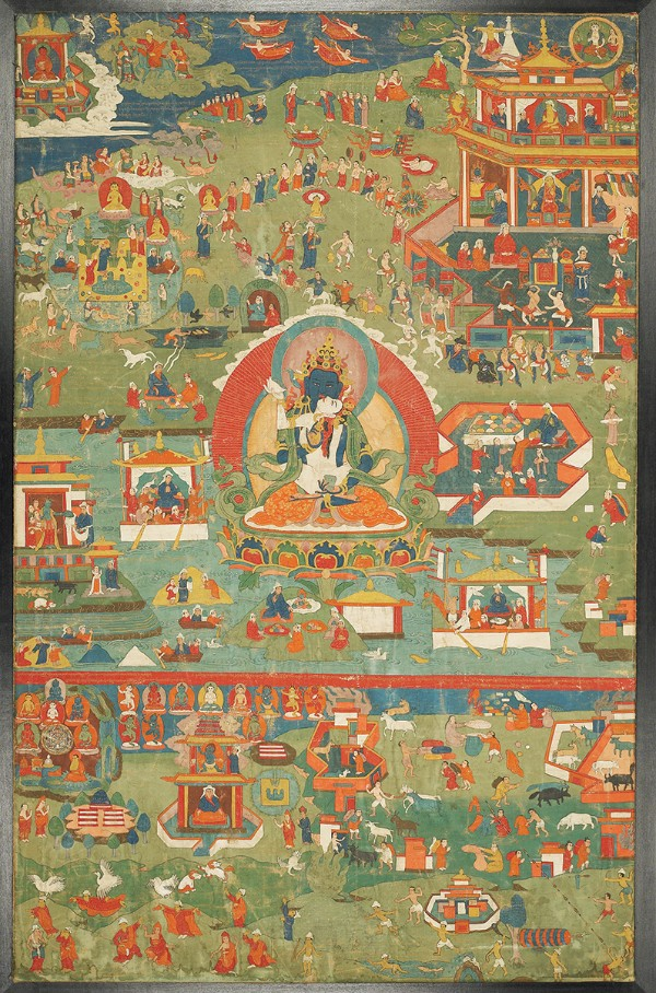 Scenes from the Life of Padmasambhava, Tibet