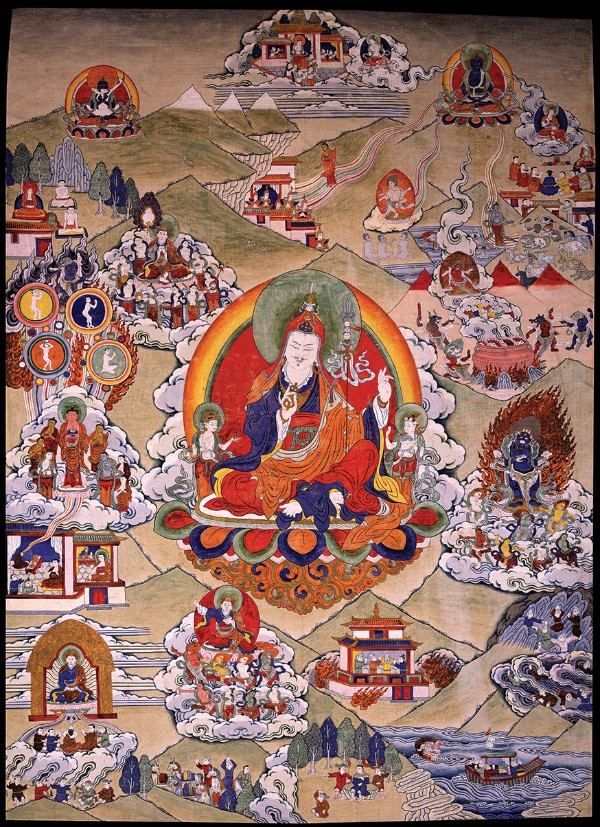 Padmasambhava, Tibet, 19th century