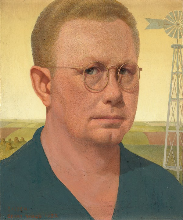 Grant Wood, Self-Portrait, 1932/1941