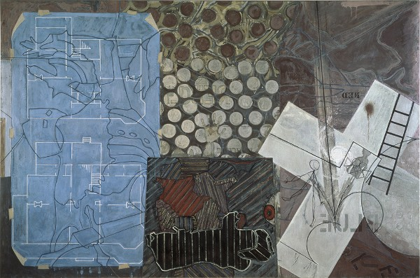 Jasper Johns, Untitled, 1992–94