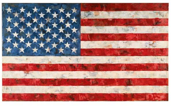 Jasper Johns, Flag, 1967