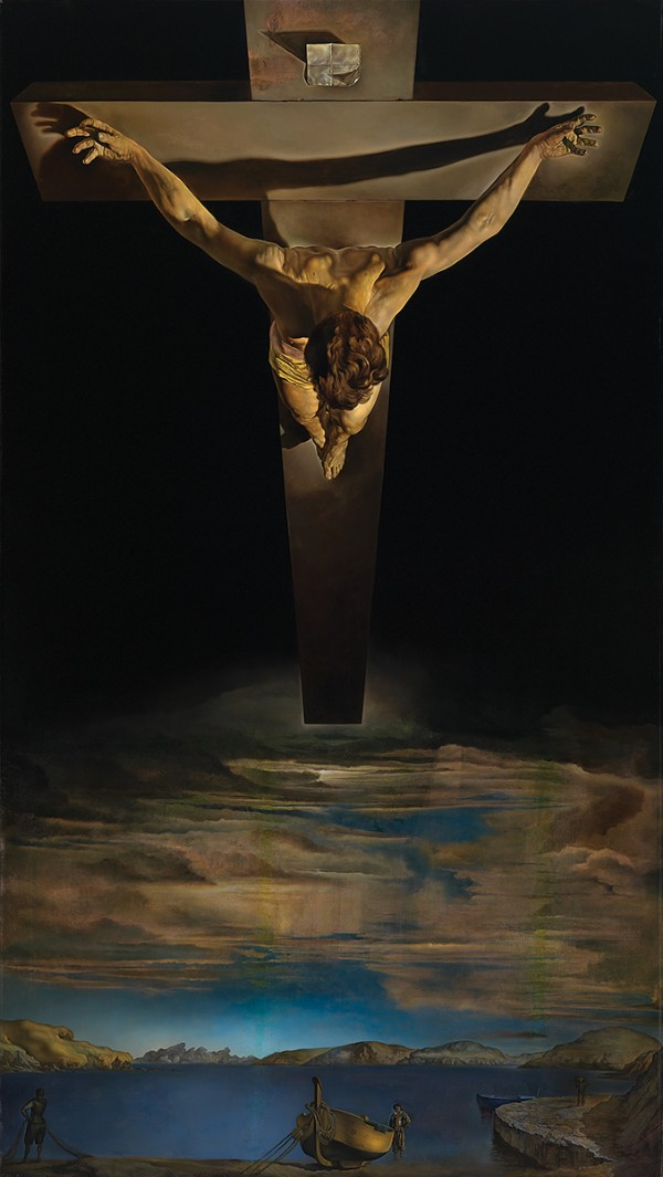 Salvador Dalí, Christ of St John of the Cross, circa 1951