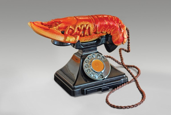 Salvador Dalí and Edward James, Lobster Telephone, 1938
