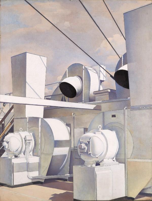 Charles Sheeler, Upper Deck, 1929