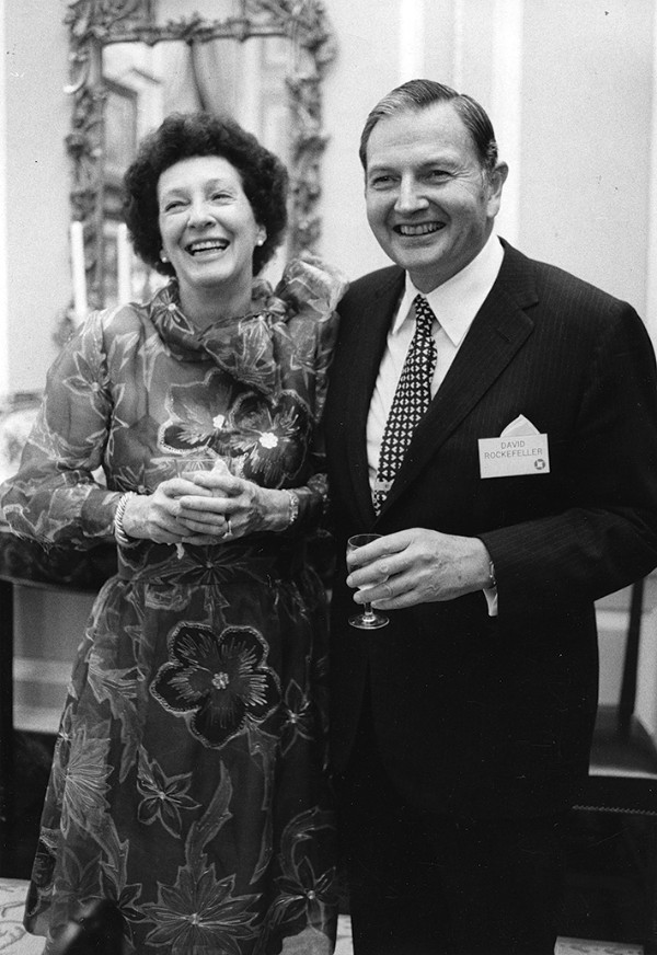 David and Peggy Rockefeller on May 13, 1979