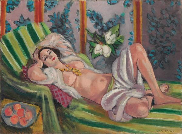 Henri Matisse, Odalisque couchée aux magnolias, 1923