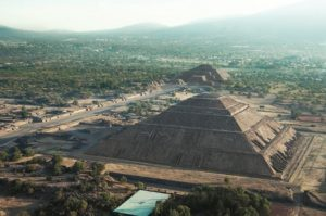 View of Teotihuacan