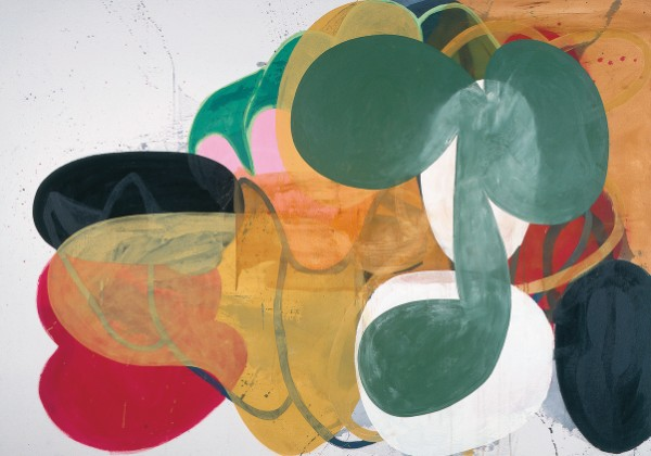 Charles Arnoldi, Group Think, 1996