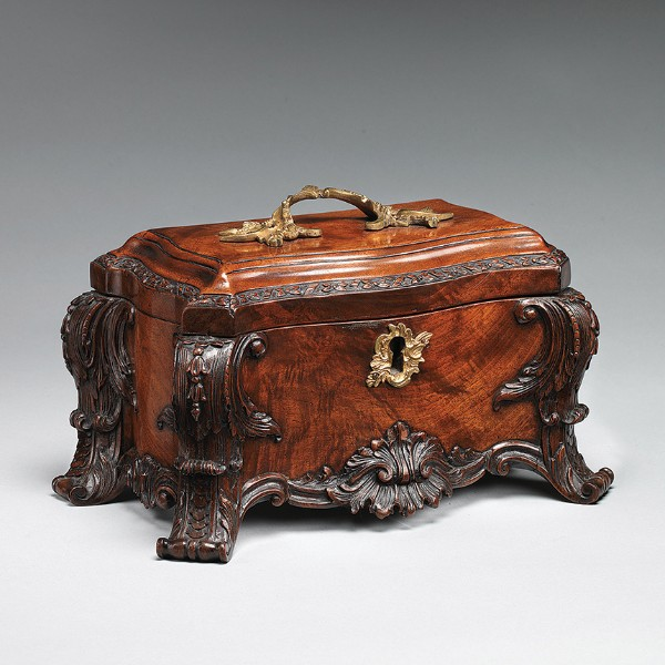 Tea chest, British, circa 1760