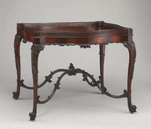 China table, England, circa 1755-60