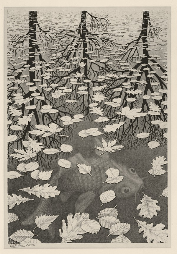 M.C. Escher, Three Words