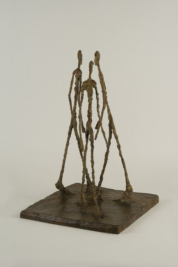 Alberto Giacometti, Three Men Walking