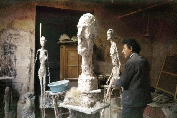 Alberto Giacometti in his Studio, circa 1960