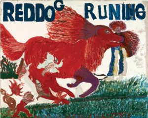 William L. Hawkins, Red Dog Running #3