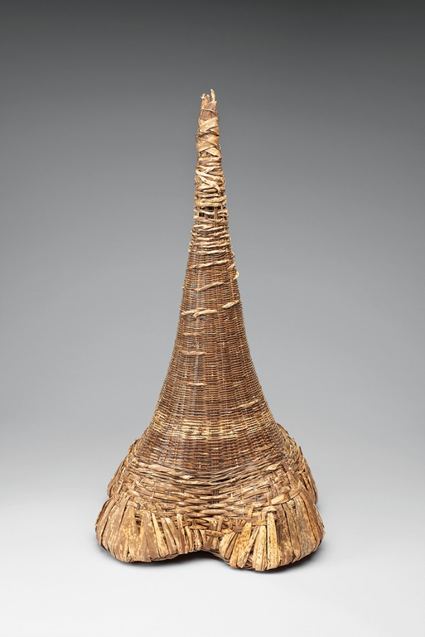Tanabe Mitsuko, Cultivating Life, Tiger Bamboo & Bamboo Sheath, 2010