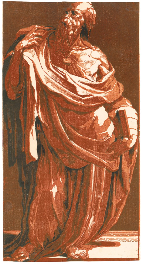 Domenico Beccafumi, Apostle with a Book, circa 1540s