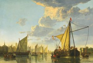 Aelbert Cuyp The Maas at Dordrecht, c. 1650