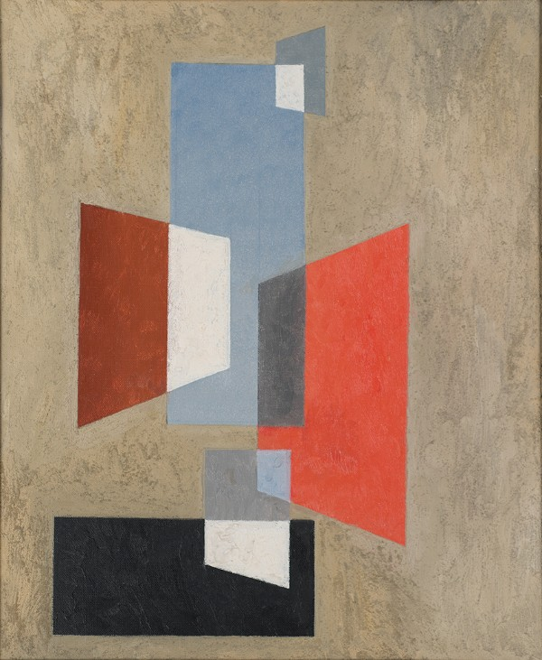 Charles Green Shaw, Untitled (Intersection Trapezoids), 1936