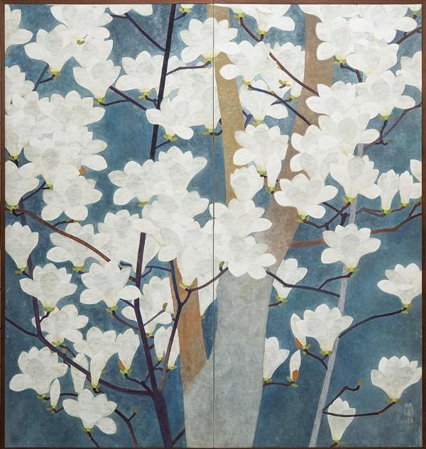 Magnolias in Bloom, circa 1920s–1930s