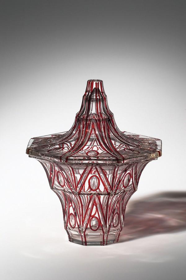 Designed by Emanuel Josef Margold, Vase with Lid