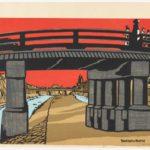 Tokuriki Tomikichiro, Sanjo Bridge, 1954