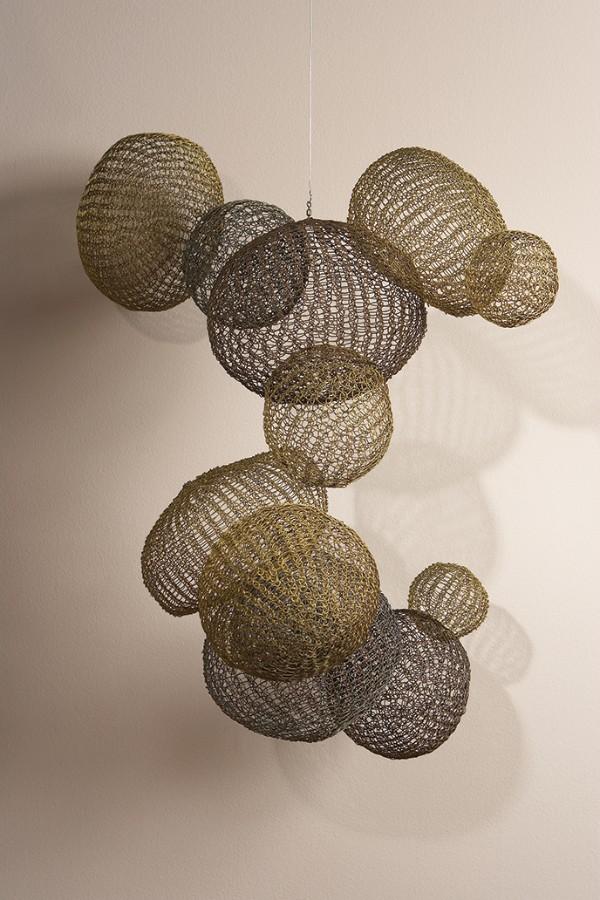 Ruth Asawa, Untitled (S.089, Hanging Asymmetrical Twelve Interlocking Bubbles), circa 1957