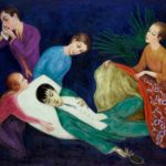 Nils Dardel, The Dying Dandy, 1918