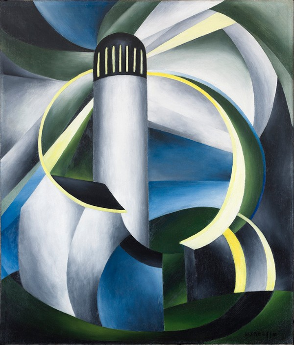 Ida Ten Eyck O'Keeffe, Variation on a Lighthouse Theme IV, circa 1931–32