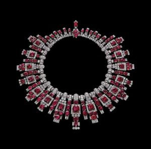 Nawanagar ruby necklace, Cartier, London, 1937
