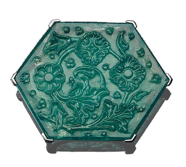 Taj Mahal emerald, India, 1650–1700