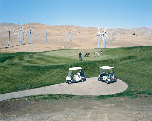 Mitchell Epstein, Altamont Pass Wind Farm, California, 2007