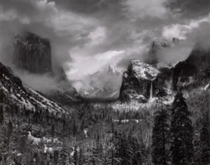 Ansel Adams, Clearing Winter Storm, Yosemite National Park, about 1937