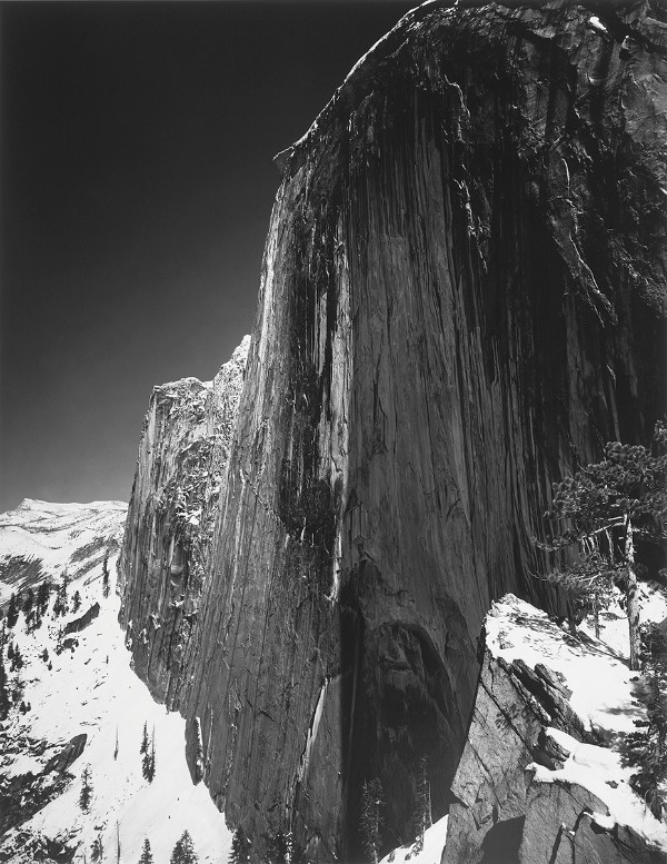 Ansel Adams, Monolith -- The Face of Half Dome, Yosemite National Park, 1927, print date: 1950-60