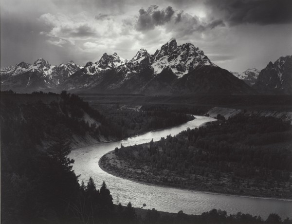 Ansel Adams, The Tetons and Snake River, Grand Teton National Park, Wyoming, 1942