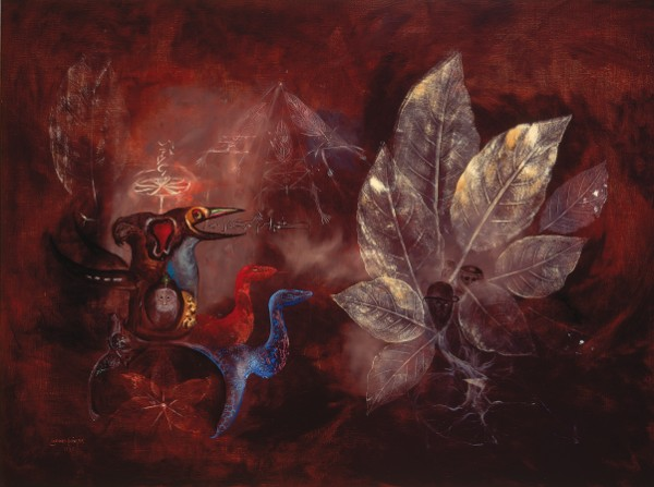 Leonora Carrington, Snake Bike Floripondio, 1975
