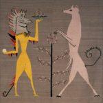 Leonora Carrington, Iguana and Fox (For Edward James), 1948-1958