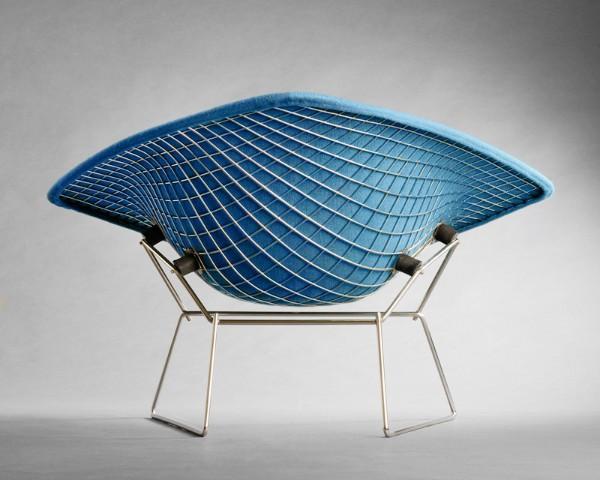 Large Diamond Lounge Chair, circa 1952