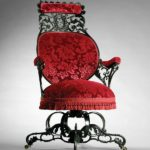 Centripetal Spring Arm Chair, circa 1850