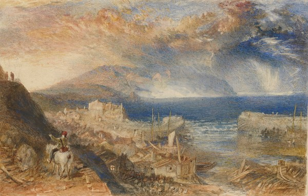 Joseph Mallord William Turner, Wolf's Hope, Eyemouth, circa 1835