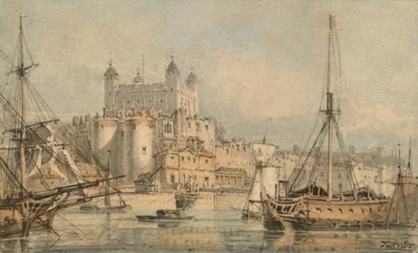 Joseph Mallord William Turner, The Tower of London, circa 1794